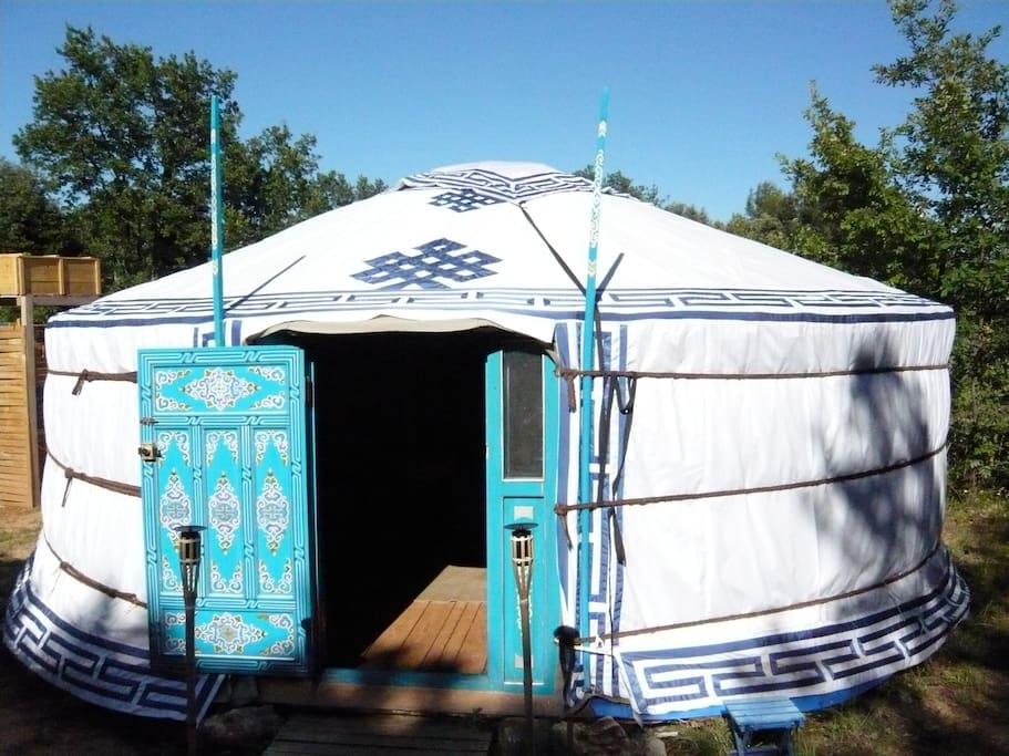 La yourte mongolienne
