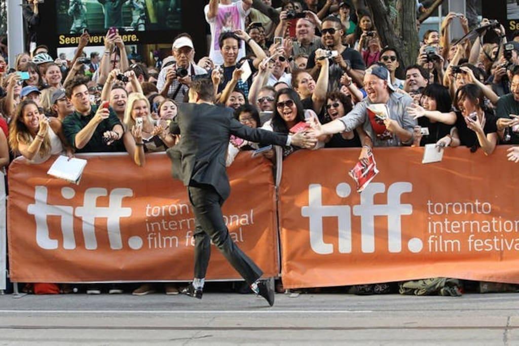 Toronto International Film Festival (Tiff) Theatres - Right across the street