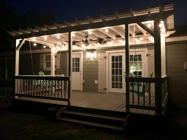 Adorable bungalow with large inviting deck!