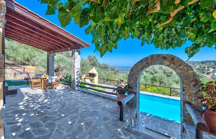Villa Olive with 2 bedrooms and a private pool