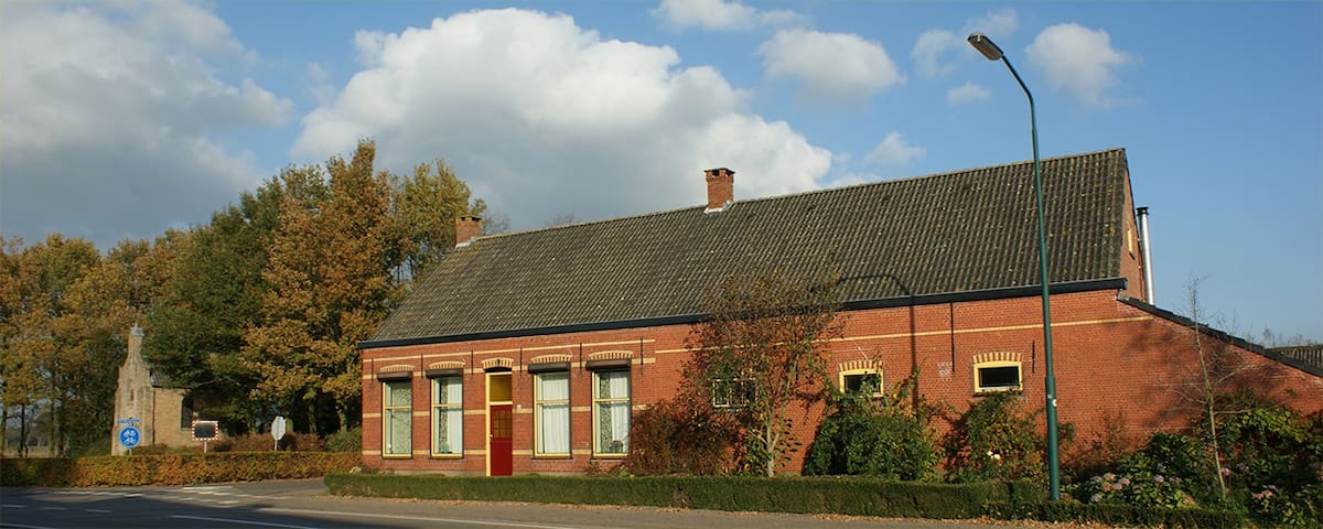 Logeren op de boerderij dichtbij natuur en Breda