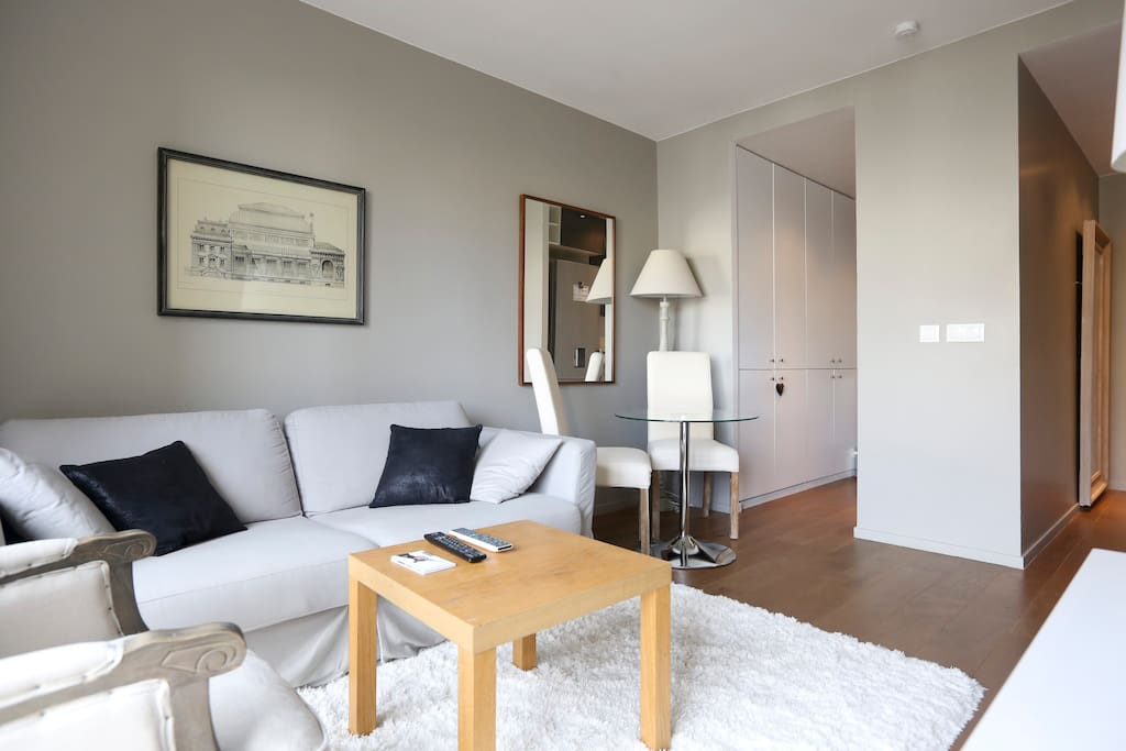 Beautiful and bright flat 1 bedroom