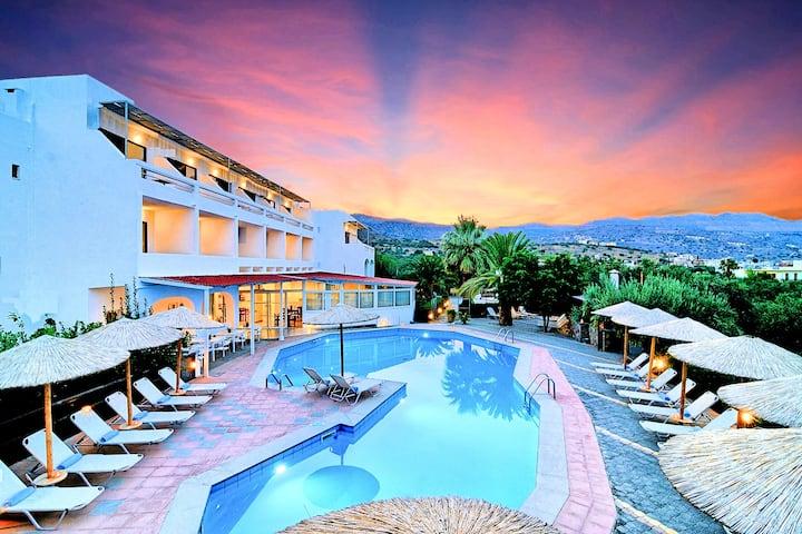 Elounda Krini Hotel | Family Room Sea View