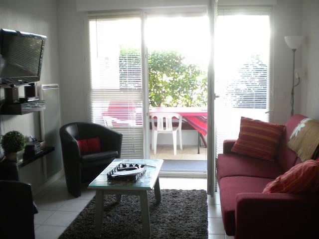Appartement résidence proximité immédiate plage - Hendaye - Apto. en complejo residencial