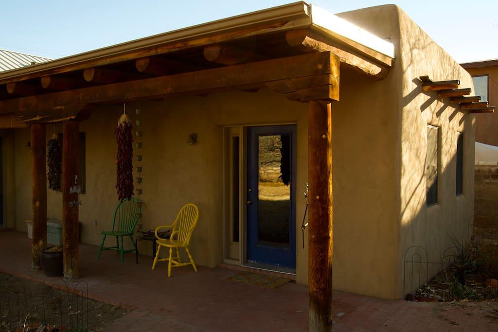 charming  private adobe casita in the north valley