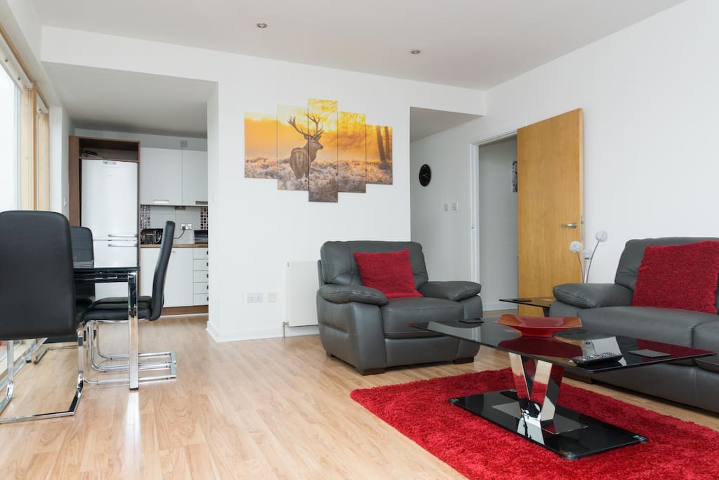 Luxury 2 bed glasgow west end flat apartments for rent for Beds glasgow