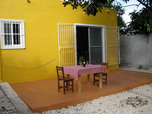 nicest small town in yucatan - Izamal - Hus