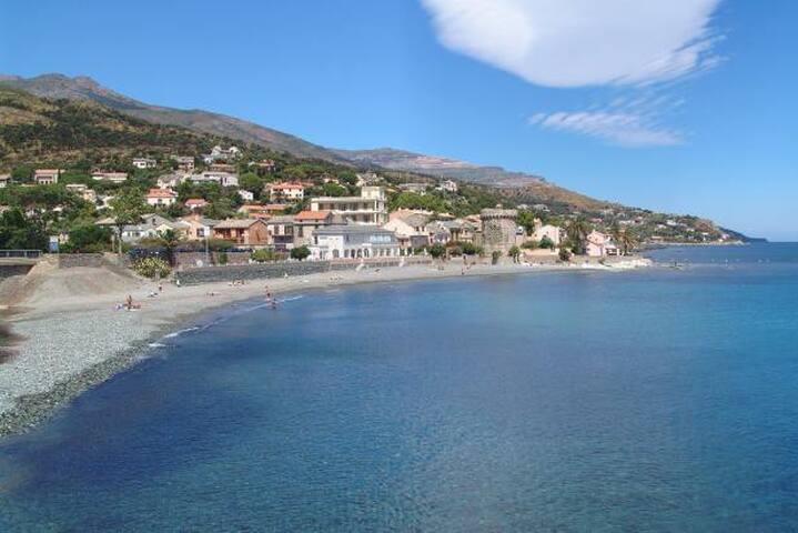 Studio N°2 - Bord de mer début du Cap Corse