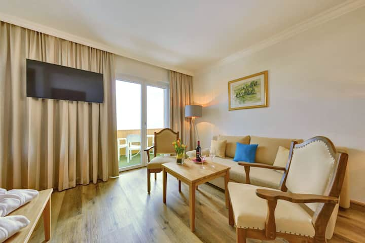 2-Raum-Suite Drautalblick im Hotel Glocknerhof
