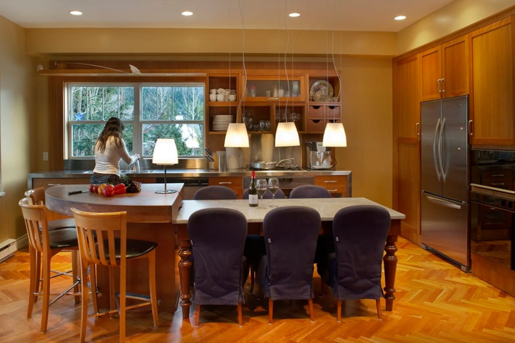 Gourmet Kitchen and Dining Room