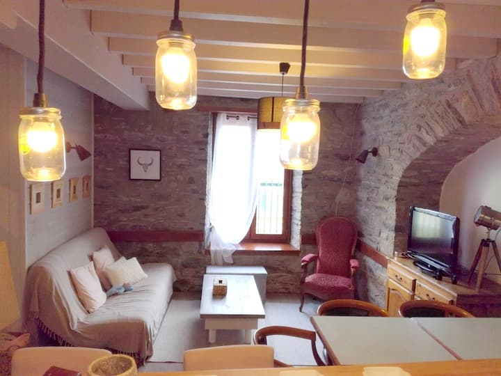 House with 3 bedrooms in Saint-Lary-Soulan, with WiFi - 500 m from the slopes