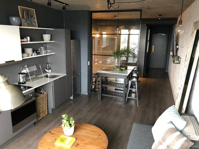 Brand new studio with harbour view