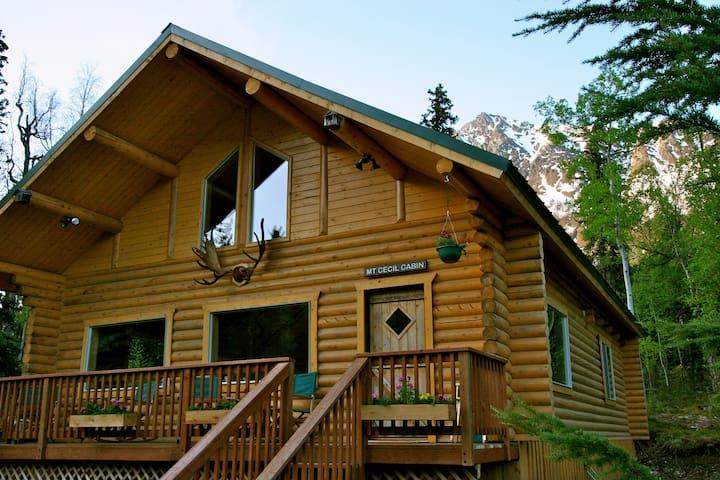 Alaska Heavenly Lodge, Cecil Room - Cooper Landing - Blockhütte