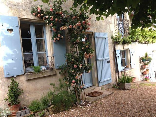 La Maison Bleue du Puy - Avon-les-Roches - Apartment