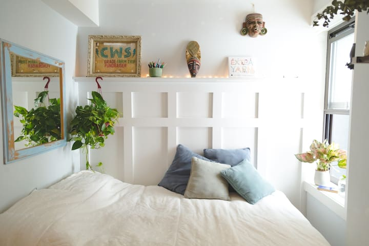 Clean & Serene Modern Room in Prime Williamsburg