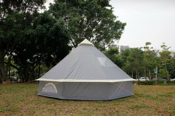 bell tents 5m x5m brand new