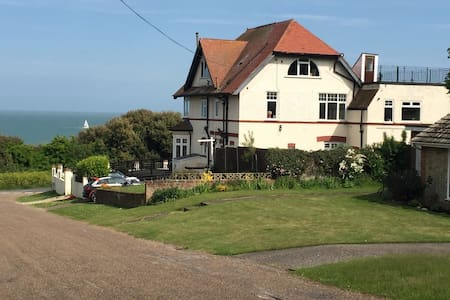 Cosy flat with key for the '39 steps' and beach! - 布罗德斯泰(Broadstairs) - 公寓
