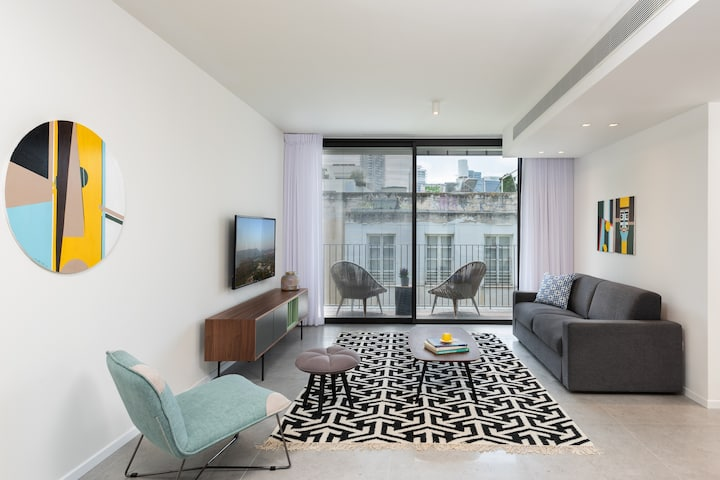 Shenkin Center TLV 4BR Serviced by Master