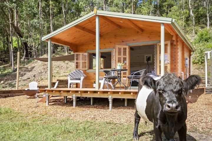 Off Grid Farm Cabin