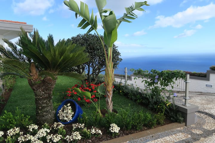 Ocean Front Penthouse Villa With Private Pool - Caniço - 아파트