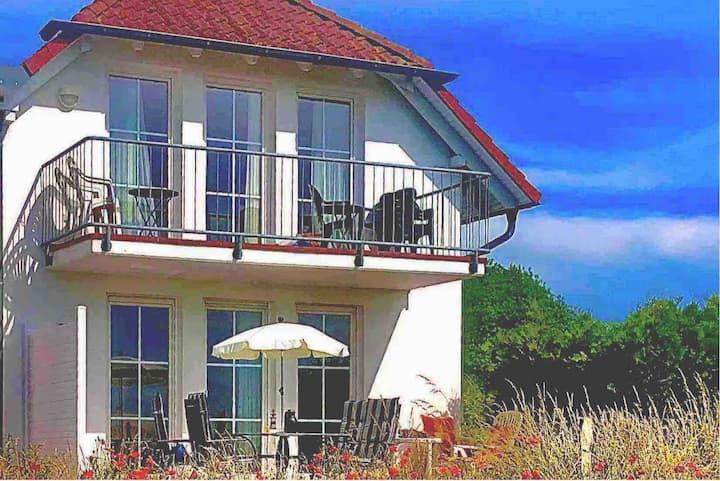 Ferienwohnung mit Boddenblick für 4