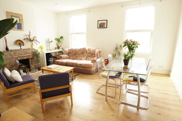 Charming two storey flat in East London