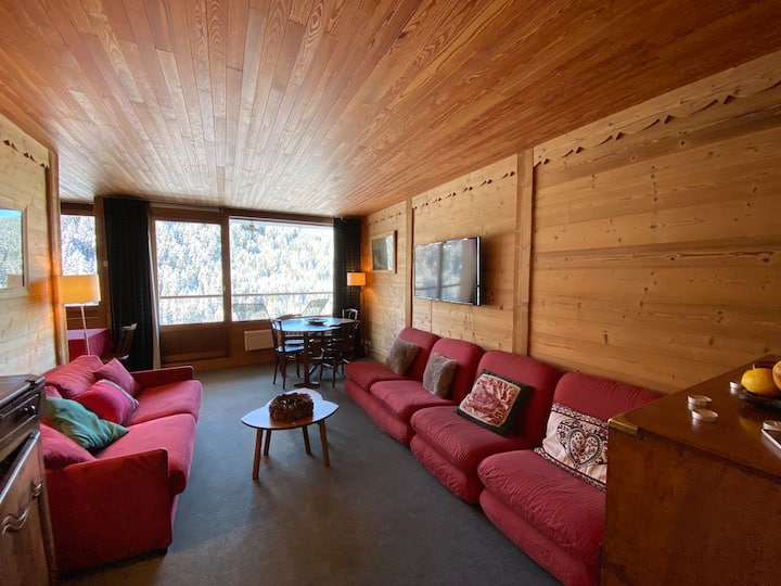 Rental flat Courchevel 1650 - 7 sleeps - 57m2
