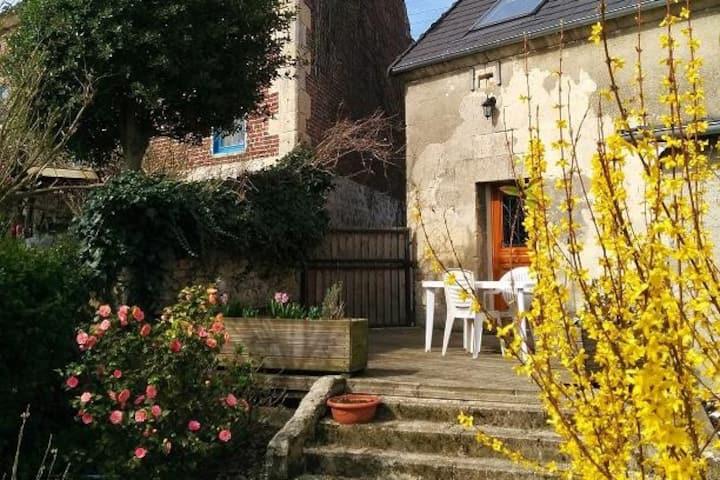 Gite la Grange près de la cité médiévale de Laon