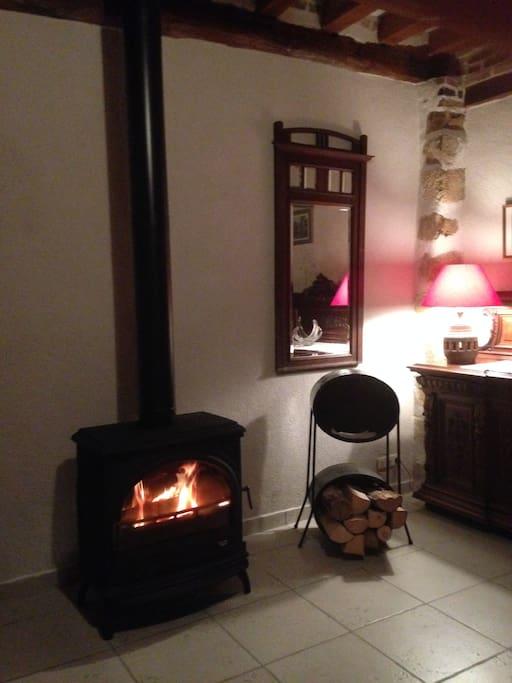 Nous vous présentons le nouveau poêle à bois pour une ambiance encore plus chaleureuse