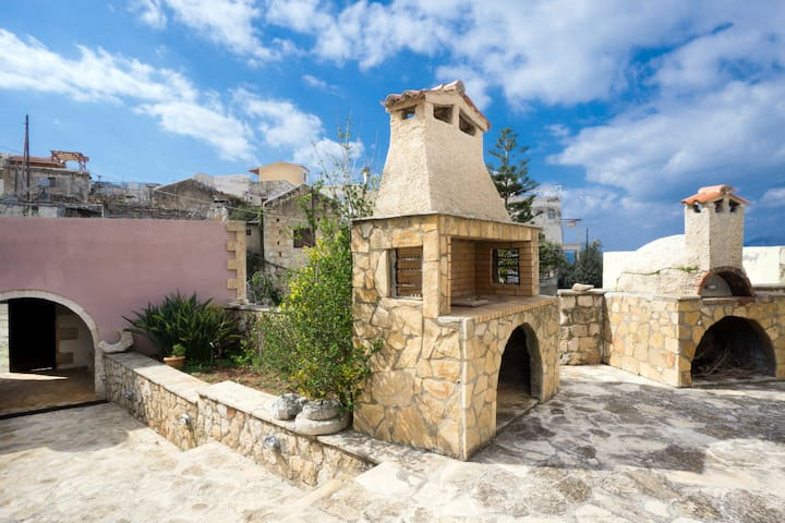 SPRING OFFER-Traditional Decorated 2-Bedroom Home! - Kokkino Chorio - House