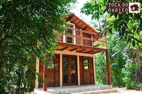 Toca do Ouriço Wood Lodge
