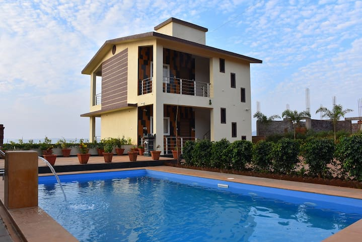 Suite Villa With one Bedroom One Living Room And Kitchen