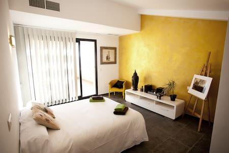 Habitación doble con baño y terraza - Ciudadela de Menorca - Haus