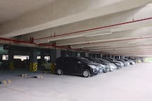 Free parking space for cars and motorbikes