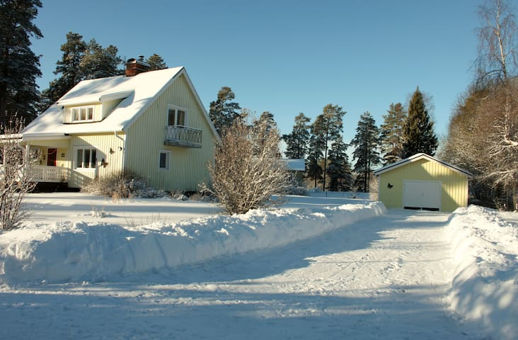 Mooi appartement in de bossen  - Gustavsfors Hagfors  - Apartamento