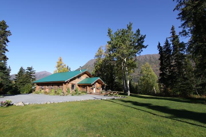 Alaska Heavenly Lodge, Main Cabin - Cooper Landing - Blockhütte