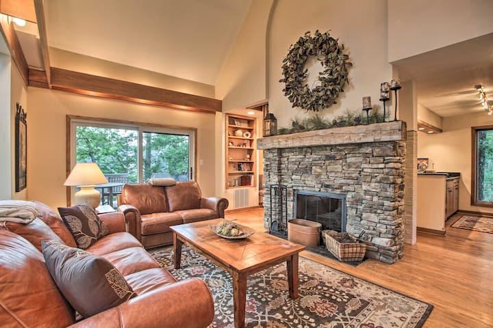 NEW! Wintergreen Resort Home w/ 2 Decks & Grill!