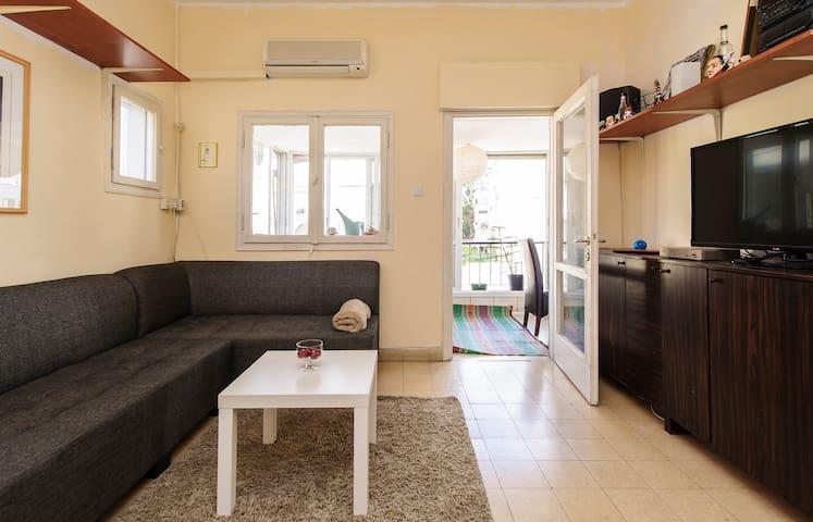Studio Apartment with Large Balcony - Ramat Gan - Appartement