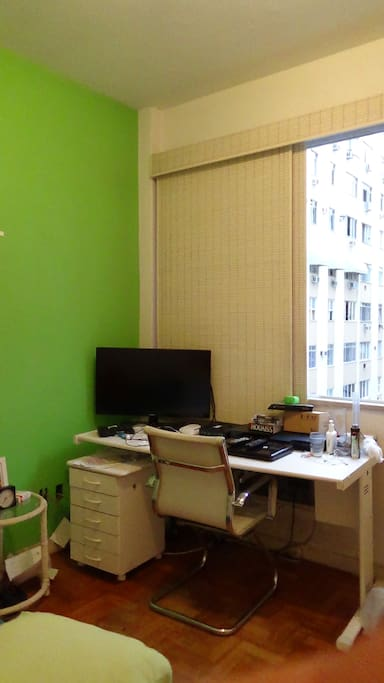 Second bedroom, the office