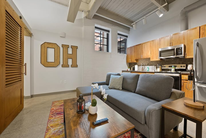 Industrial Loft Apartments in the BEAUTIFUL NEW Superior Building! #104