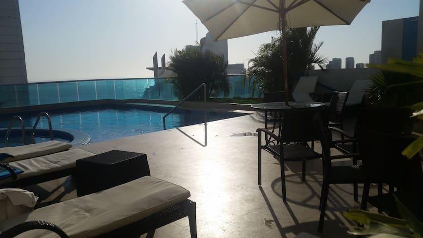 Exclusive 3 Bedroom Apt! Best Area / Beach Side - Cartagena das Indias - Apartamento