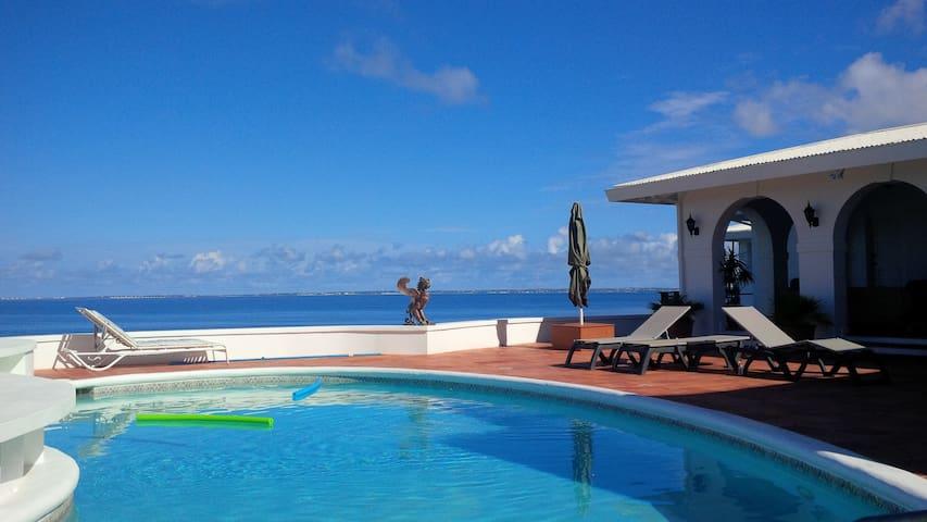 ROMANTIC, OPEN-DESIGN 3BR VILLA - Sint Maarten - Hus