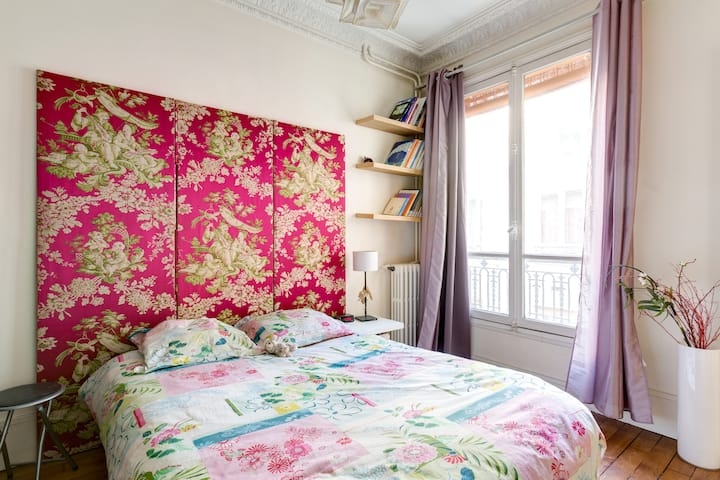 Private room in 2-room charmingflat (Woman only)