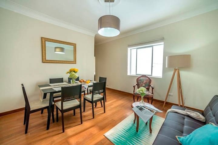 Enjoy the Wealthiest and Safest Area in Lima; 2BR! - Distrito de Lima - Apartment