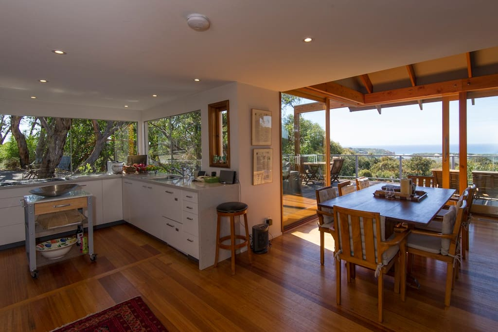 Cook and then dine with a view
