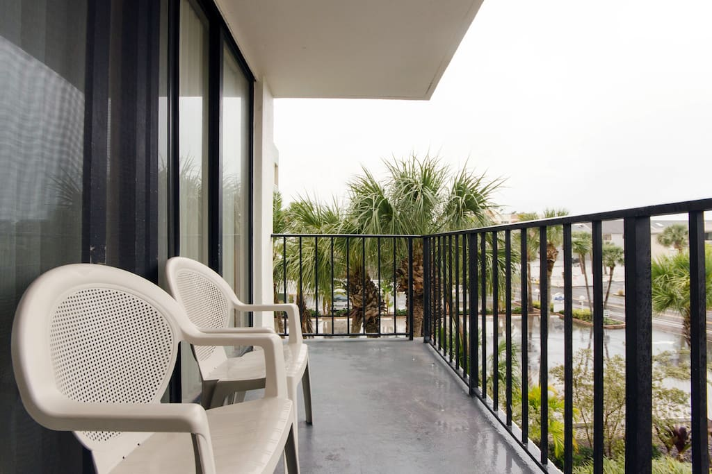 Your balcony awaits you...