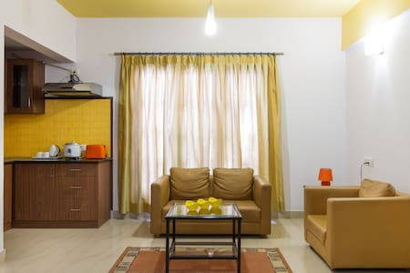 Central located,family friendly 1 BHK with kitchen - Bengaluru