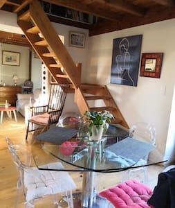 Chambres privées dans maison de campagne.