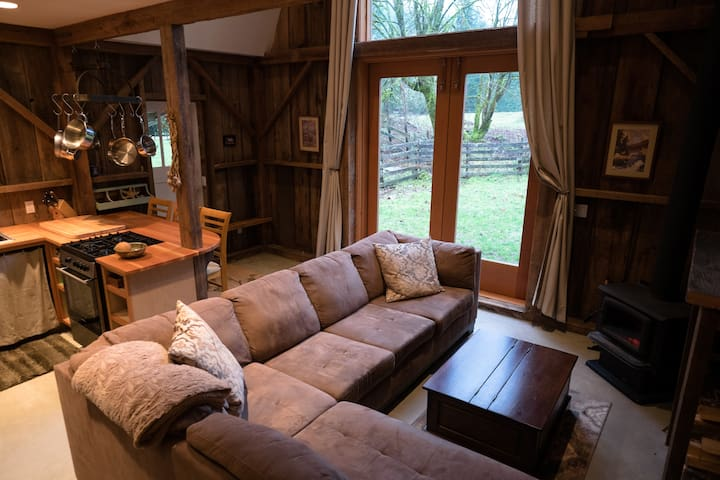Cozy cabin on Saltspring Island - Salt Spring Island - Blockhütte