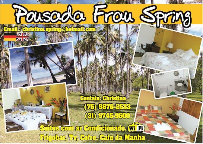Wohnungen im Paradies  - Ilha de Boipeba - Bed & Breakfast